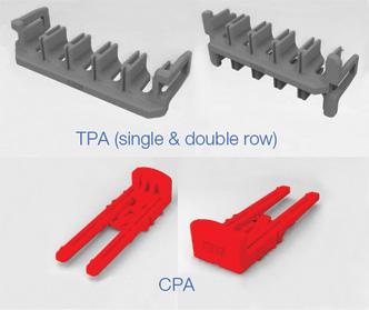 Rys. 2. Powiększony obraz wtyczek CPA oraz TPA