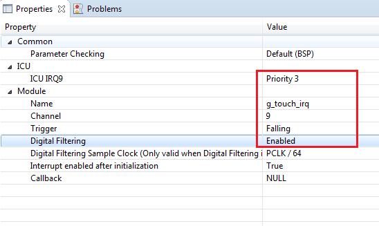 Rys. 23. Dodanie i konfiguracja External IRQ Driver on r_icu