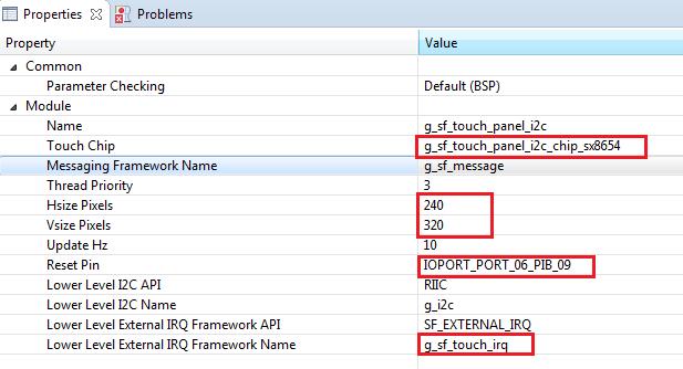 Rys. 26. Dodanie funkcji framework panelu dotykowego