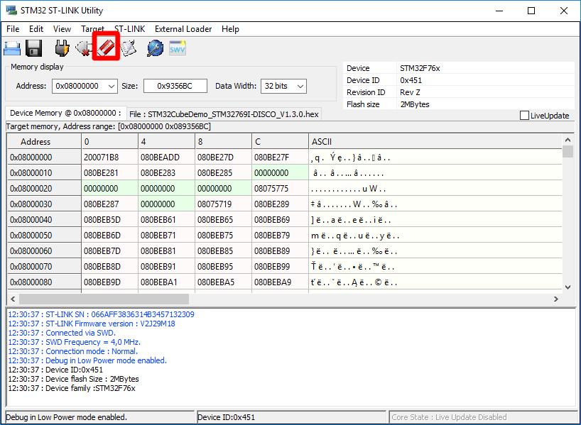 Obsługa programu ST-AudioWeaver (DSP na STM32) z STM32F769IG