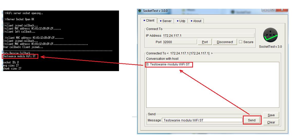 STM32CubeMX w konfiguracji STM32 do pracy z modułem Wi-Fi