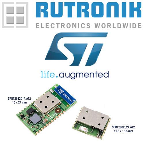 Webinarium na temat modułów Bluetooth firmy STMicroelectronics
