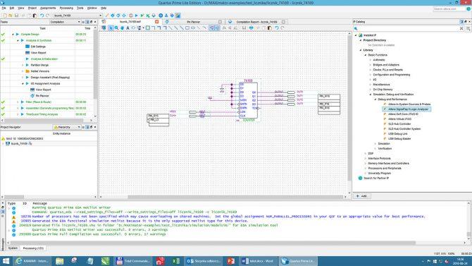 Rys. 3. SignalTAP II jest dostępny w ramach bezpłatnych IP core w pakietach Quartus II i Quartus Prime
