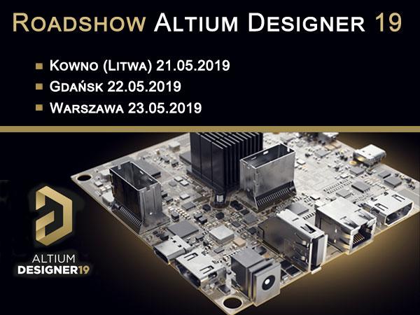 Computer Controls Roadshow Altium Designer 19 - wiosna 2019