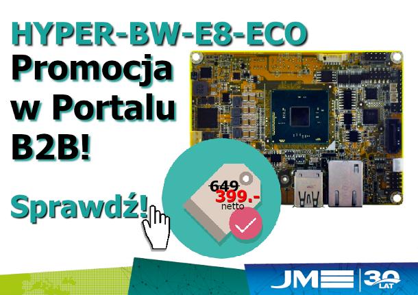 Promocja JM elektronik iEi HYPER-BW-E8-ECO
