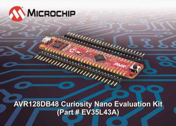 Microchip konkurs AVR128DB48 Curiosity Nano